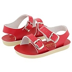 Sun San Salt Water Sea Wee Sandals in Red