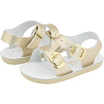 Sun San Salt Water Sea Wee Sandals in Gold