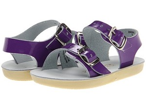 Sun San Salt Water Sea Wee Sandals in Purple