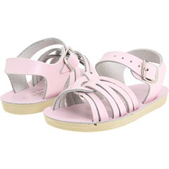 Sun San Salt Water Strap Wee Sandals in Matte Pink (DISCONTINUED COLOR)
