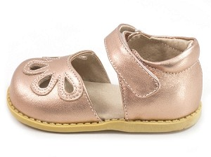 Livie & Luca Petal in Rose Gold Metallic