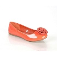 Jelly Beans Coral Ballet Flat